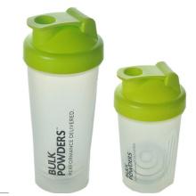 400ml benutzerdefinierte Ernährung Kunststoff Shaker Flasche