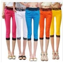 Moda novo estilo meninas ′ cores doces calças skinny (sr8229)