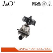 Nouvelles valves de soudure de diaphragme sanitaire d'acier inoxydable de conception