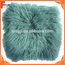 New Arrival Top Quality Mongolian Fur Cushion