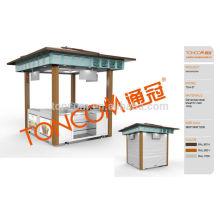 Kiosque de centre commercial pour la vente de nourriture