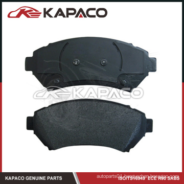 Assured quality ceramic brake pad for CADILLAC D699