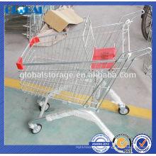 Chariot de supermarché style européen