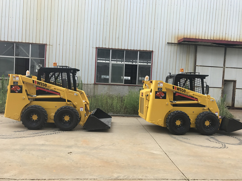 50hp Mini Skid Steer Loader for Sale