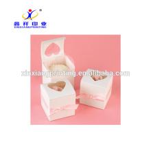 Boîtes en carton d'emballage de modèle de boîte de papier de chocolat en gros