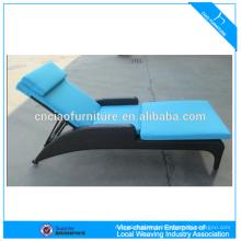 Jardin rotin chaise longue patio mobilier d'extérieur
