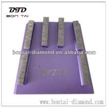 Nuevo bloque de cuña de diamante para moler