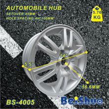 Aluminium Alloy Wheel Hub Rim with Silver Surface
