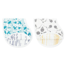 2017 most hot sales baby burp cloths muslin burp cloths