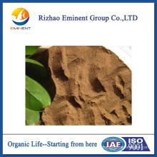 Fertilizante orgánico origen vegetal aminoácido azufrado para pulverización foliar