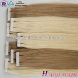 Most Popular Wholesale Price Virgin Remy Tape Hair Extention
