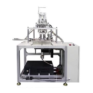 Machine semi-automatique de soudage par points de bande de boucle d'oreille de masque facial
