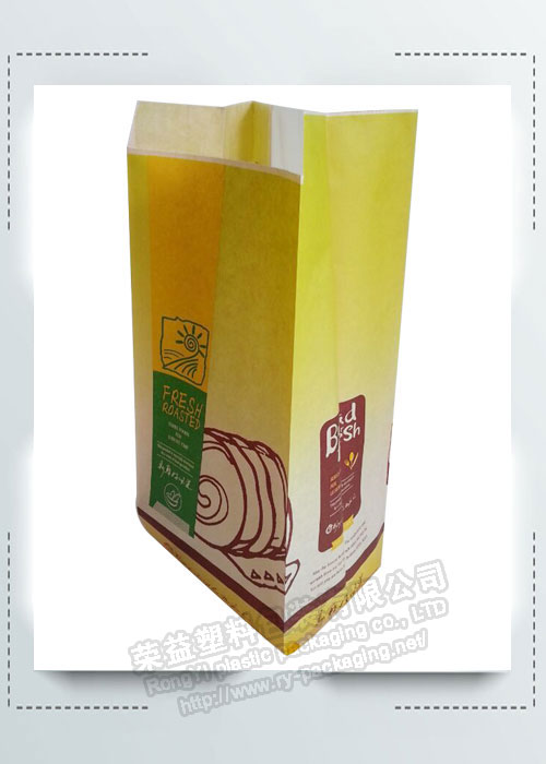 Flat Bottom Bread Paper Bags