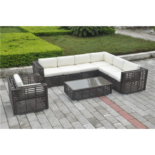 Big round wicker rattan furniture set