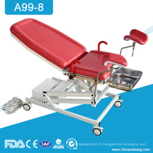 A99-8 Table de lit obstétrique de livraison d'obstétrique de gynécologie