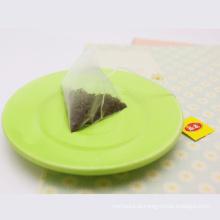 Chá chinês oolong sacos de chá de pirâmide de nylon