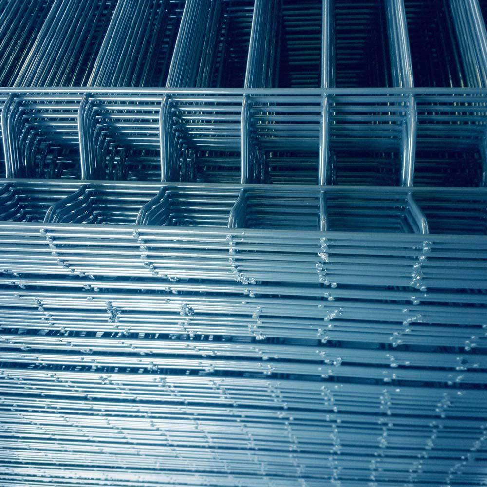 Dreieck-Biegungs-Maschendraht-Zaun mit Pfirsich-Pfosten-China-Hersteller