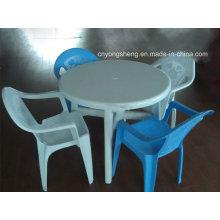 Molde plástico de mesa de jantar (ys98)