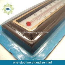 Plastic indoor wall thermometer
