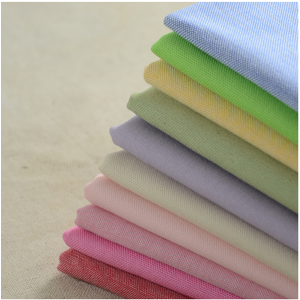Factory direct sale solid dyed canvas fabric