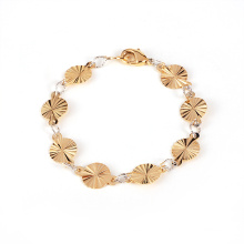 Xuping Jewelry Lotus Leaf Bracelet for Lady