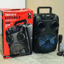 ZQS8107S Rechargeable Wireless Hot Sale 8 Inch Amazon Home Theatre System Wireless Woofer Speaker