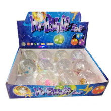 En71-Zustimmung Crystal Bouncing Transparent 6,5 Cm Magic Ball für Kinder (10174433)