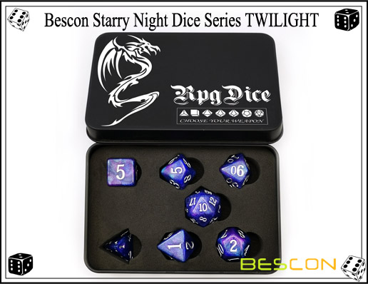 Starry Night Dice-17