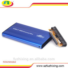 2.5 Funda de disco duro externa de aluminio IDE