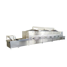 Commercial tunnel belt microwave drying machine for Pellet feed Medicinal herbs