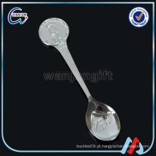 Decoração Die Cast Zinc Alloy Souvenir Spoon
