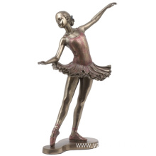 Elegant Bronze Ballet Dancer Statue for Sale