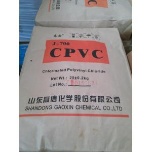 Factory Supplier for CPVC Resin Material CPVC Resin for Pipes and Fitting supply to Tonga Supplier
