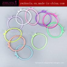 Bracelet en caoutchouc silicone à chaud de 2016