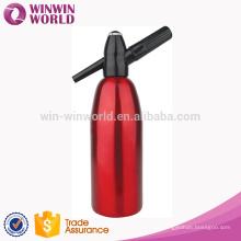 Kitchen Gift Aluminum 1 Liter Soda Dispenser Bottle