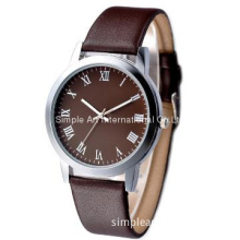 High quanlity simple style unisex PU strap watch