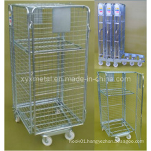 Foldable Roll Container Trolley Cage