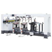 Máquina de perforación de madera multi-árbol de cuatro forros
