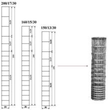 Завязанная проволочная сетка в оцинкованном состоянии