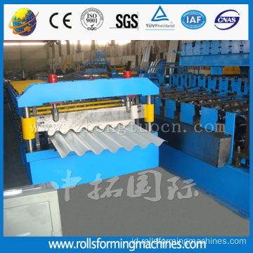 1200 lembaran bergelombang membuat Mesin Roll Forming Machine