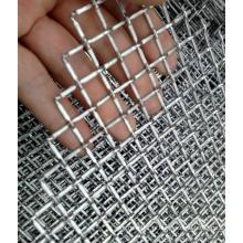 Treillis métallique pré-sertissage et résistant
