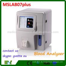 MSLAB07plus-M Voller automatischer Hämatologie-Analysator (CE, ISO-zertifiziert)