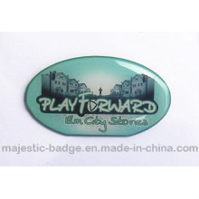 Customized Lapel Pin Offset Printed