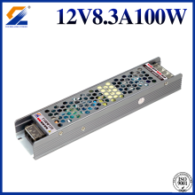 12V 8.3A 100W Triac 0-10V PWM Dimmable Driver