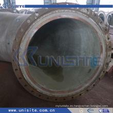 Tubo de alta presión soldado de la pared doble para la draga (USC-6-004)