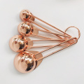 Set 4 cucharas de medir de oro rosa Good Cook