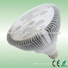 810lm Aluminium Kühlkörper par38 9w LED Scheinwerfer