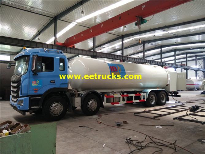 25m3 LPG Delivery Tank Vehicles