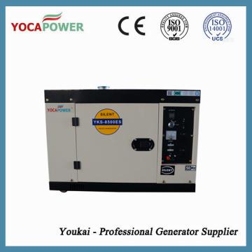 7kw Звукопоглощающий Малый дизельный двигатель Электрический генератор Производство электроэнергии