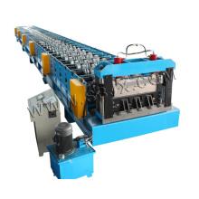 Профилегибочная машина для производства металлических настилов Yx114